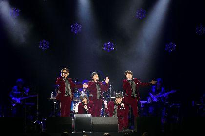 ゴスペラーズ、所属プロダクション25周年記念ライブで新曲2曲を初披露 最大13人のメンバーが登場する「INFINITY」MVもフル公開
