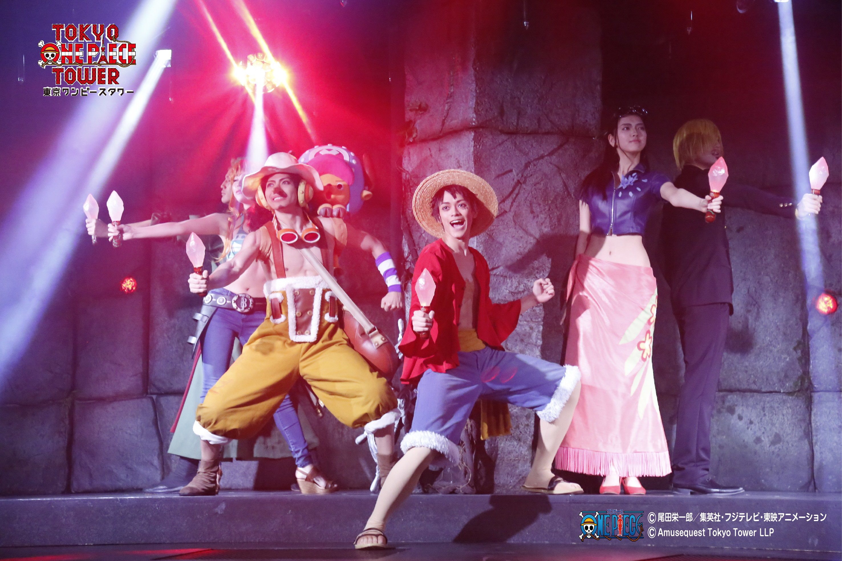 「ONE PIECE LIVE ATTRACTION〝2〟」の様子(2016年)