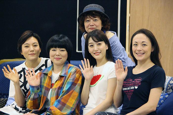 (上段)鈴木裕美、(下段左から)鈴木杏、ブルゾンちえみ、花乃まりあ、シルビア・グラブ