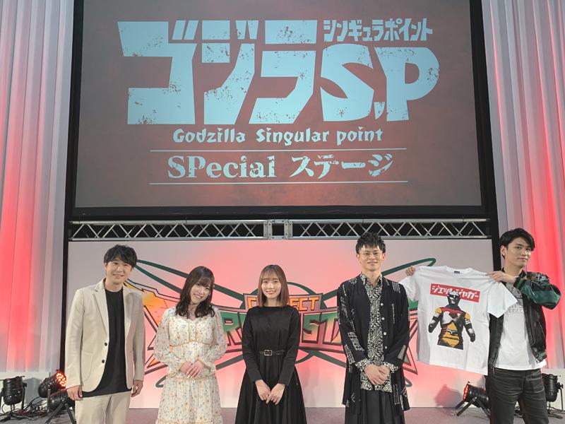 ▲写真左より)鈴村さん、久野さん、宮本さん、石毛さん、阿座上さん