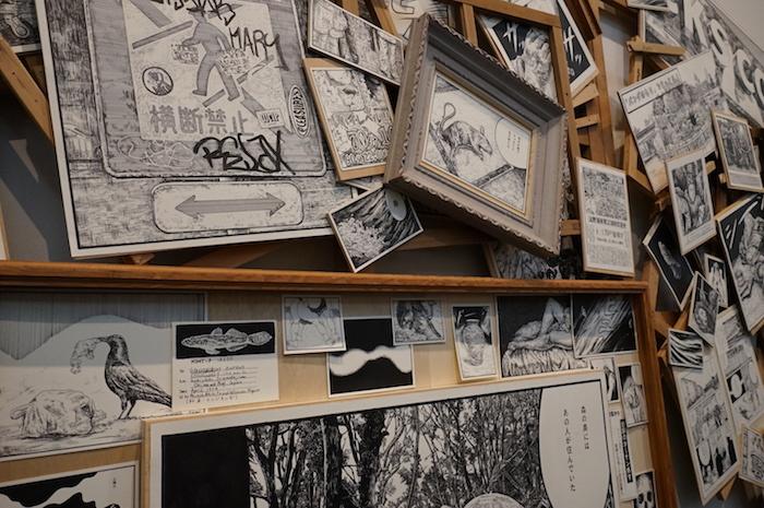 尾花賢一《上野山コスモロジー》部分 マンガの中には作家自身の上野での思い出も織り混ざっている