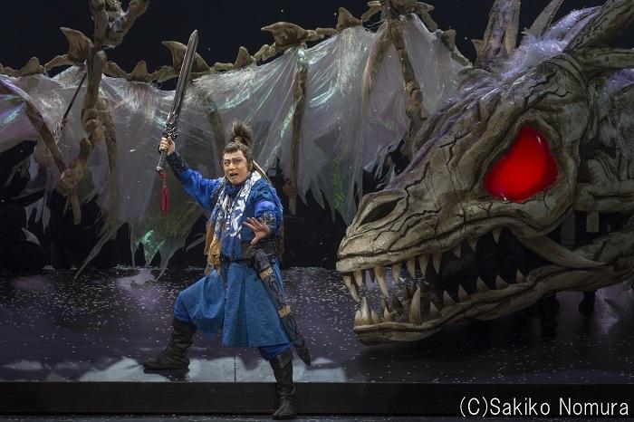 2015年7月新橋演舞場『歌舞伎NEXT 阿弖流為』松本幸四郎  撮影:野村佐紀子