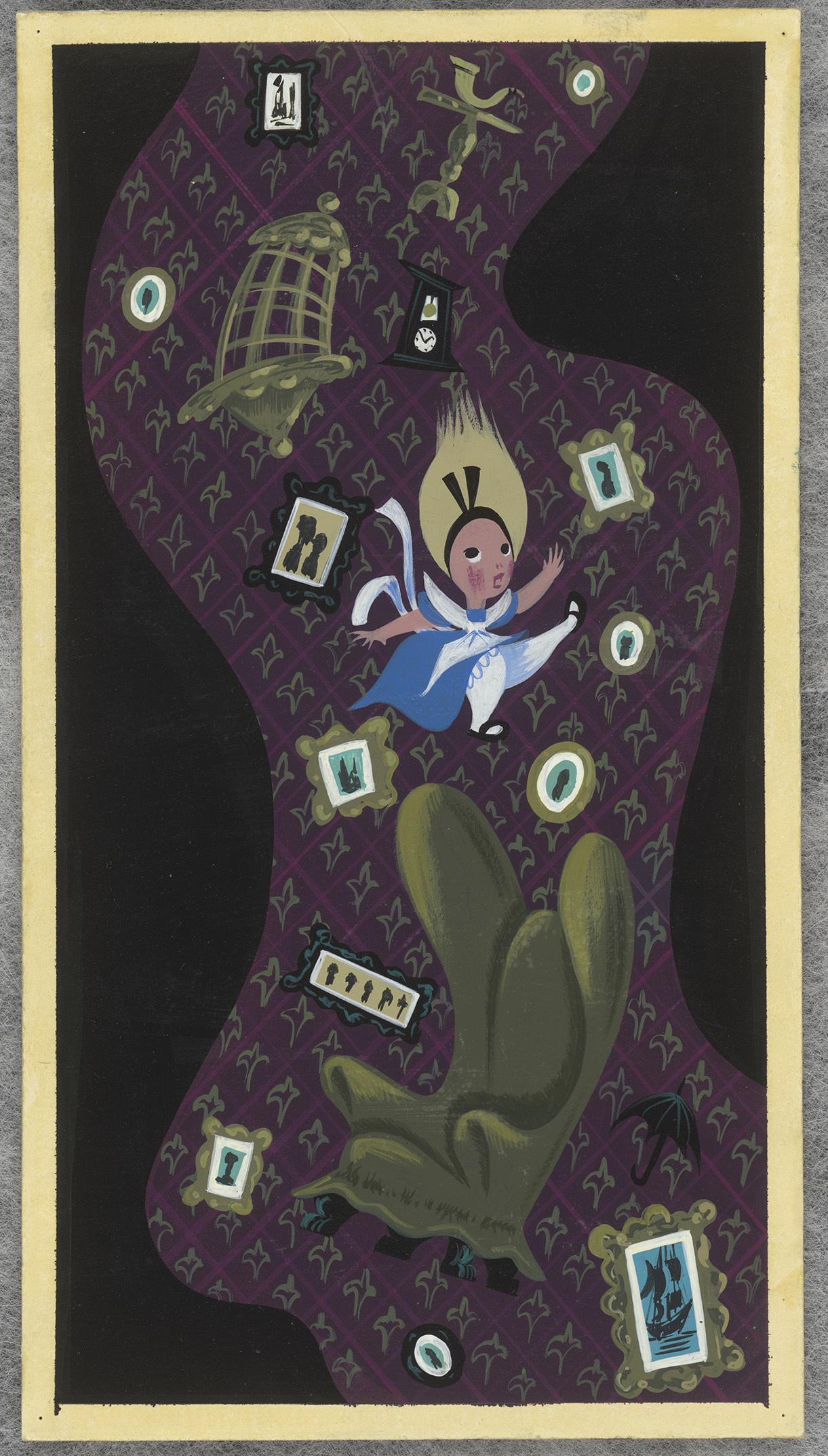 《ふしぎの国のアリス》より 1951年 (C)Disney Enterprises, Inc.