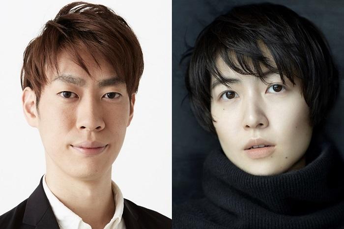 (左から)坂東巳之助、シム・ウンギョン