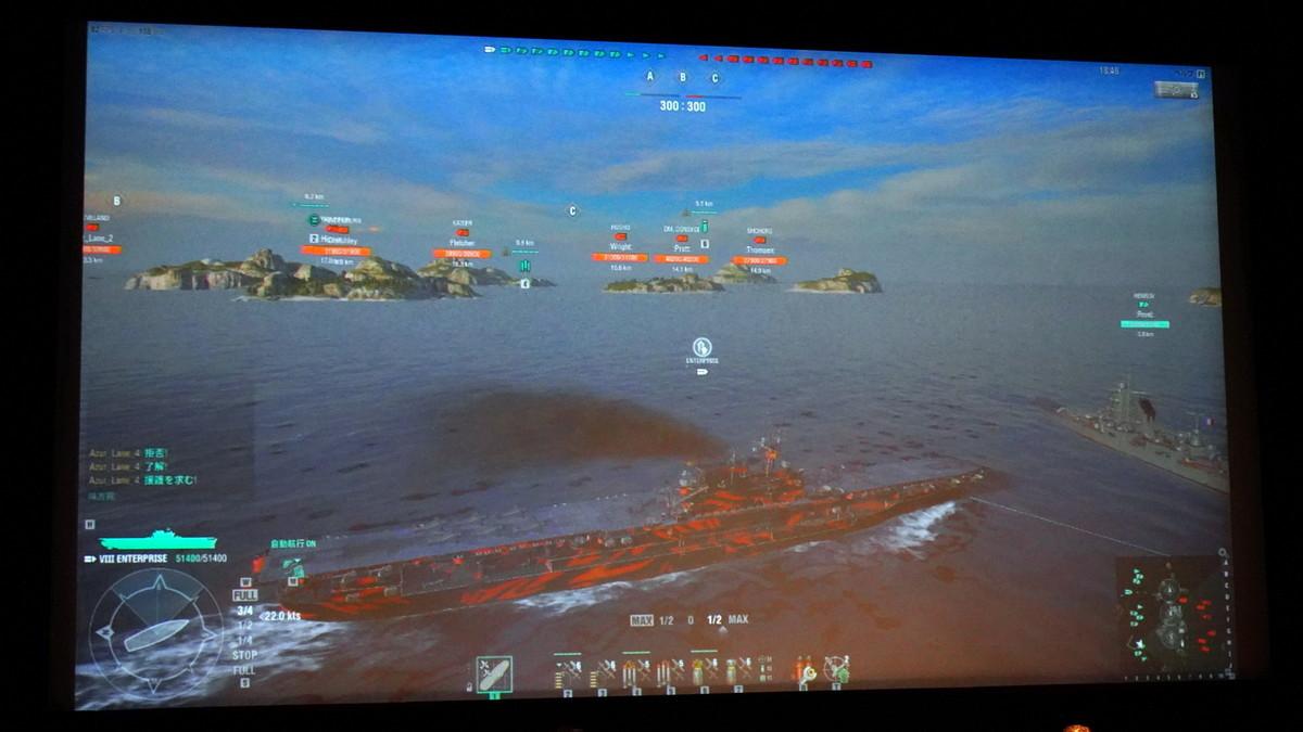 『World of Warships』でクリーブランドとエンタープライズによる実際のゲームプレイを公開。戦闘では様々な新録ボイスも楽しむことができる