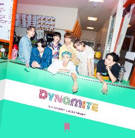 BTS、ドーナツ&サンドイッチ店を背景に集合 デジタルシングル「Dynamite」から3rdティーザー写真を公開