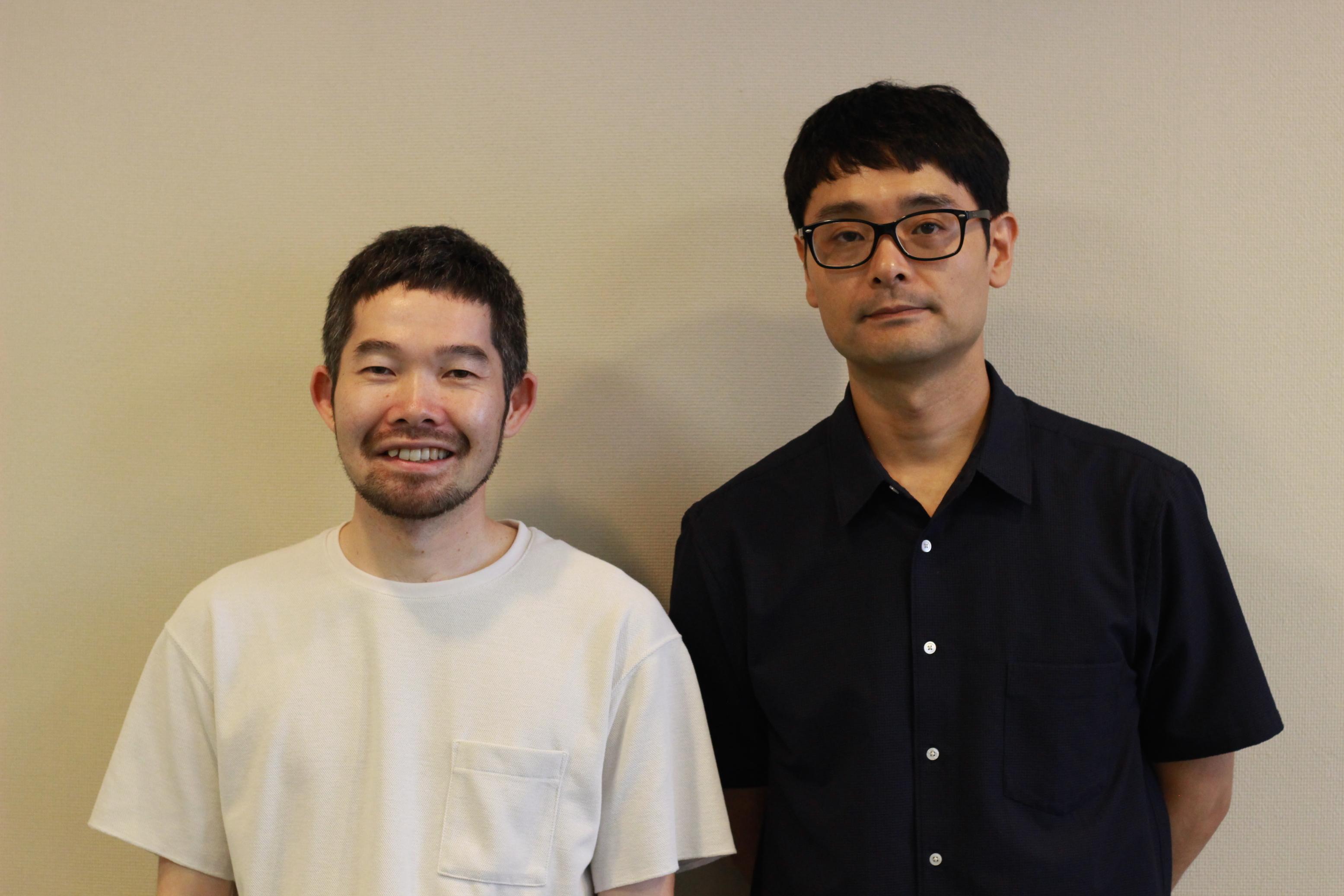 菅原直樹(左)とノゾエ征爾
