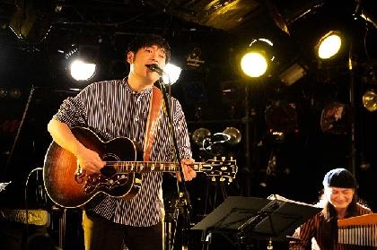浜端ヨウヘイ、メジャーデビュー2周年記念配信ライブ オフィシャルレポートが到着