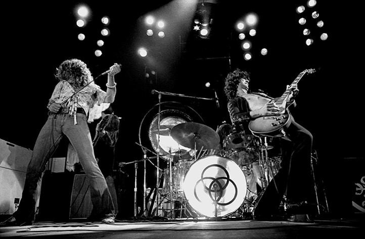 LED ZEPPELIN: Photo by James Fortune