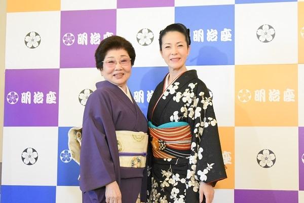 (左から)泉ピン子 坂本冬美
