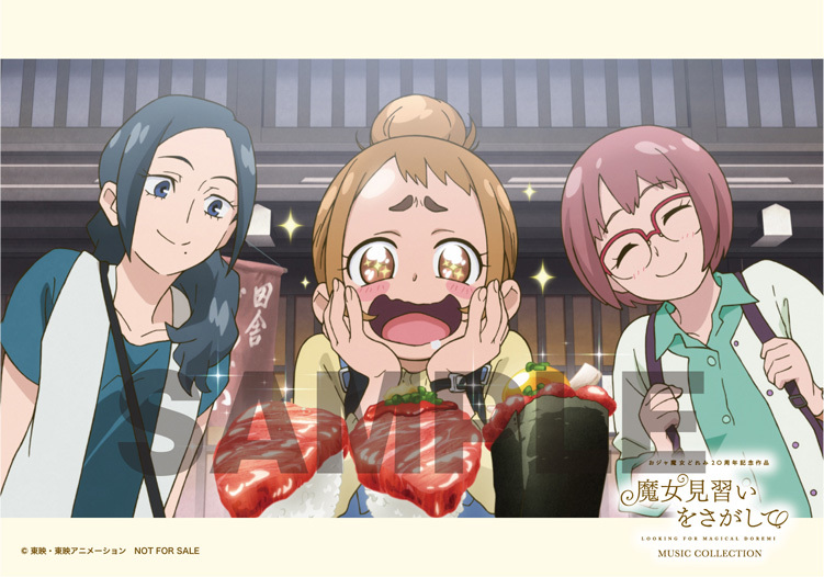 アニメイト:L 判ブロマイド 3 枚セット(場面写絵柄) (C)東映・東映アニメーション