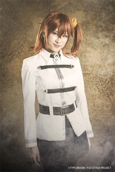 藤丸立香:坂本澪香 (C)TYPE-MOON / FGO STAGE PROJECT