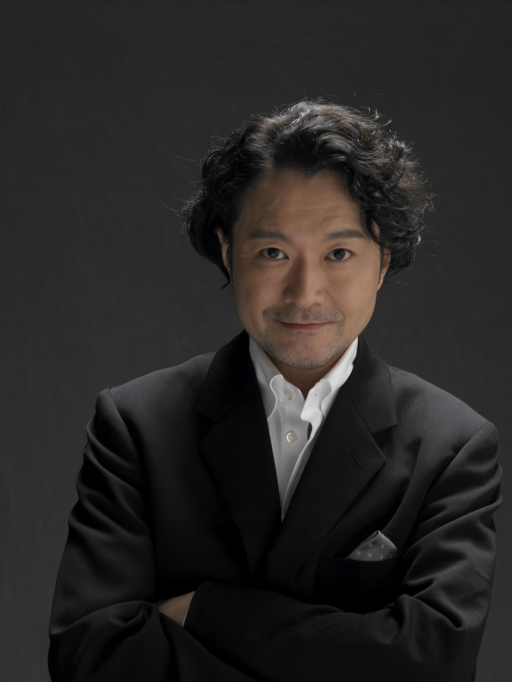 演出家・白井晃氏。フィリップ・リドリー作品を演出するのは『レディエント・バーミン』で6作目。
