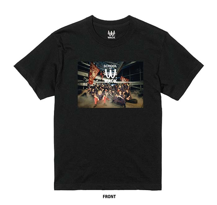 SCHOOL OF WACK フォトTシャツ (C)WACK