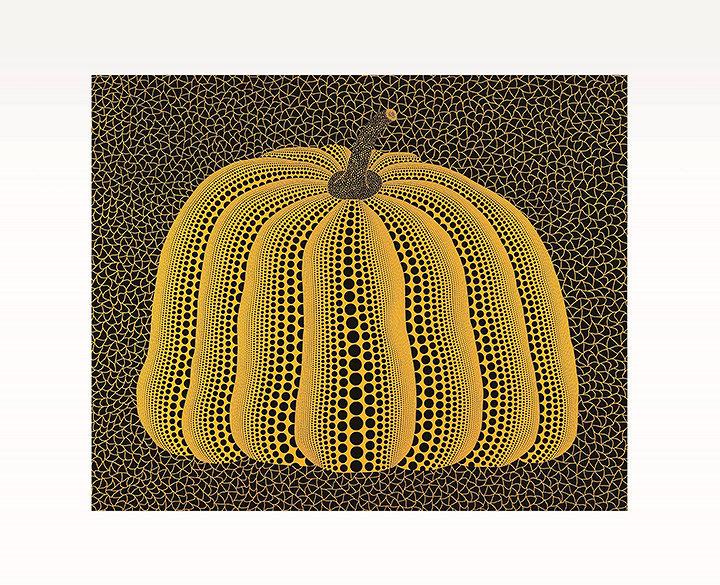 『A PUMPKIN』2007年 油彩、キャンヴァス