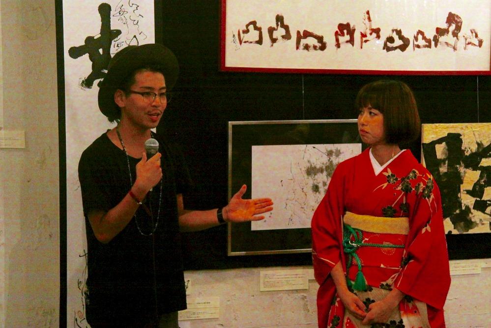 安達雄貴(左)