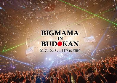 BIGMAMAの初武道館ワンマン&前夜祭がライブ映像作品に