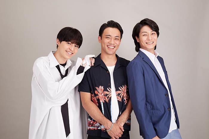 (右から)八神蓮、小澤雄太、森田桐矢