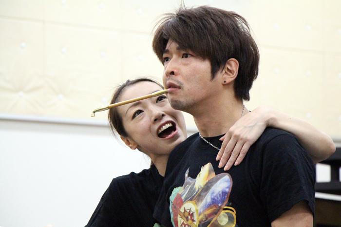(左から)田中良子、村田洋二郎