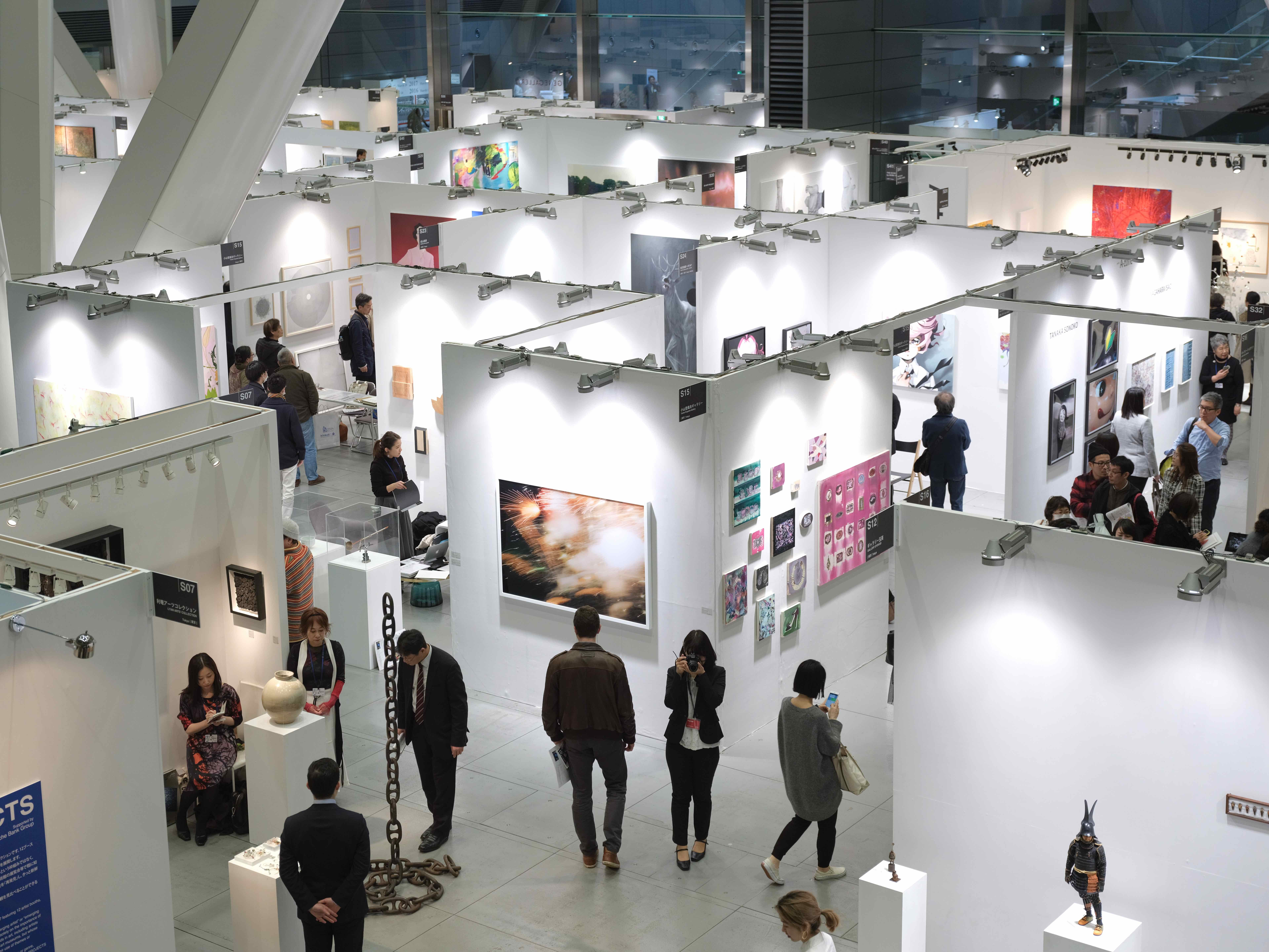 『アートフェア東京2017』会場風景