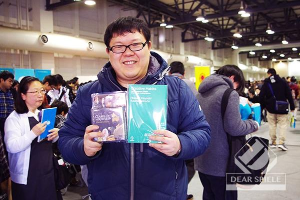 テンデイズゲームズ代表タナカマ氏 (c)DEAR SPIELE