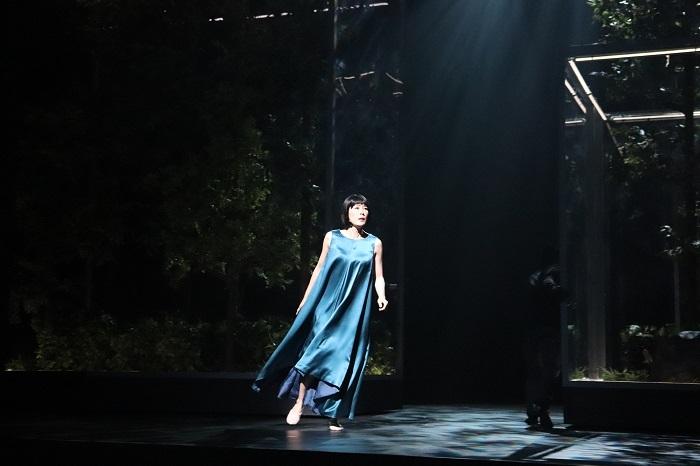 『海辺のカフカ』公開舞台稽古 寺島しのぶ