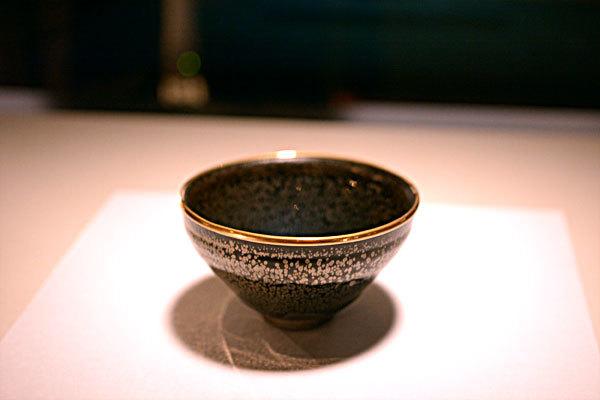 油滴天目 建窯|中国・南宋時代 12 ~13世紀 大阪市立東洋陶磁美術館蔵
