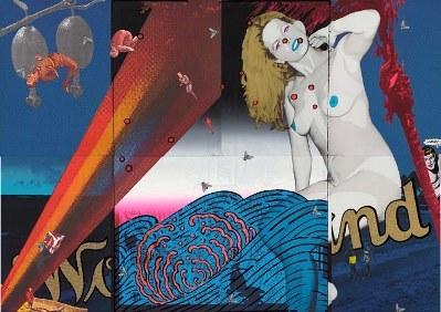 《Blue Wonderland》1973年 町田市立国際版画美術館蔵