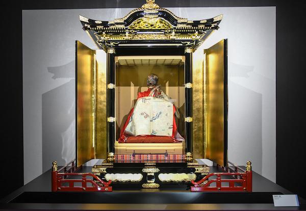 《弘智法印 宥貞》 日本 1683年頃 小貫即身仏保存会蔵