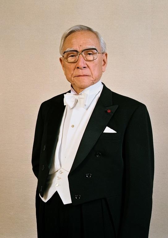 指揮者 朝比奈隆    (C)飯島隆