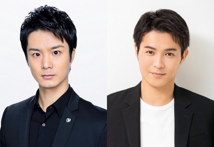 左より)田代万里生、 平方元基