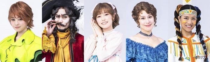 左より)吉柳咲良、 小西遼生、 美山加恋、 瀬戸カトリーヌ、 宮澤佐江  (C)ホリプロ