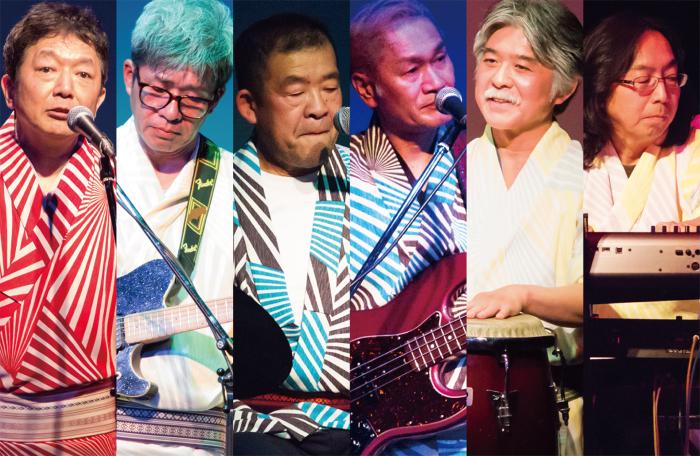 曲想を世之介(左端)が、作曲をギタリストの中村隆志(左から2番目)が担当する。 ©2018 King Production Co.Ltd.
