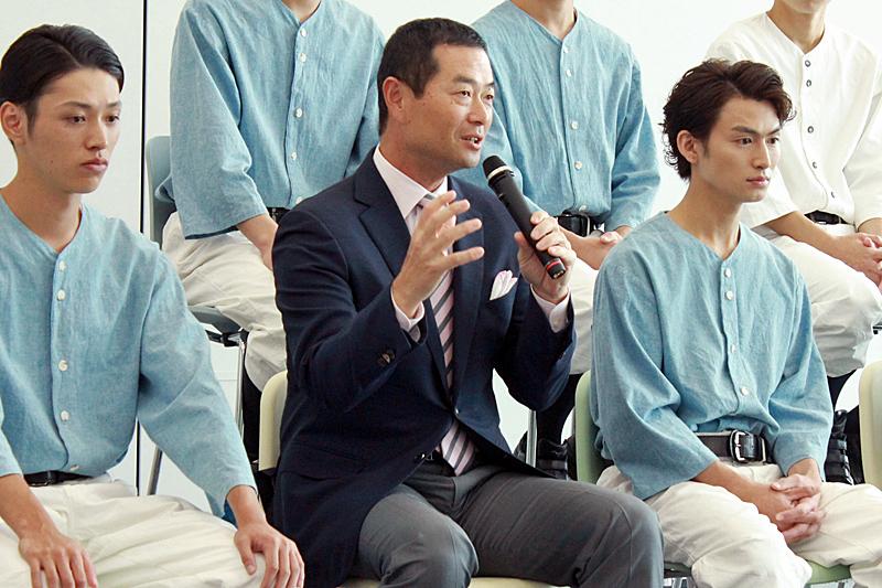 (中央)野球監修 桑田真澄