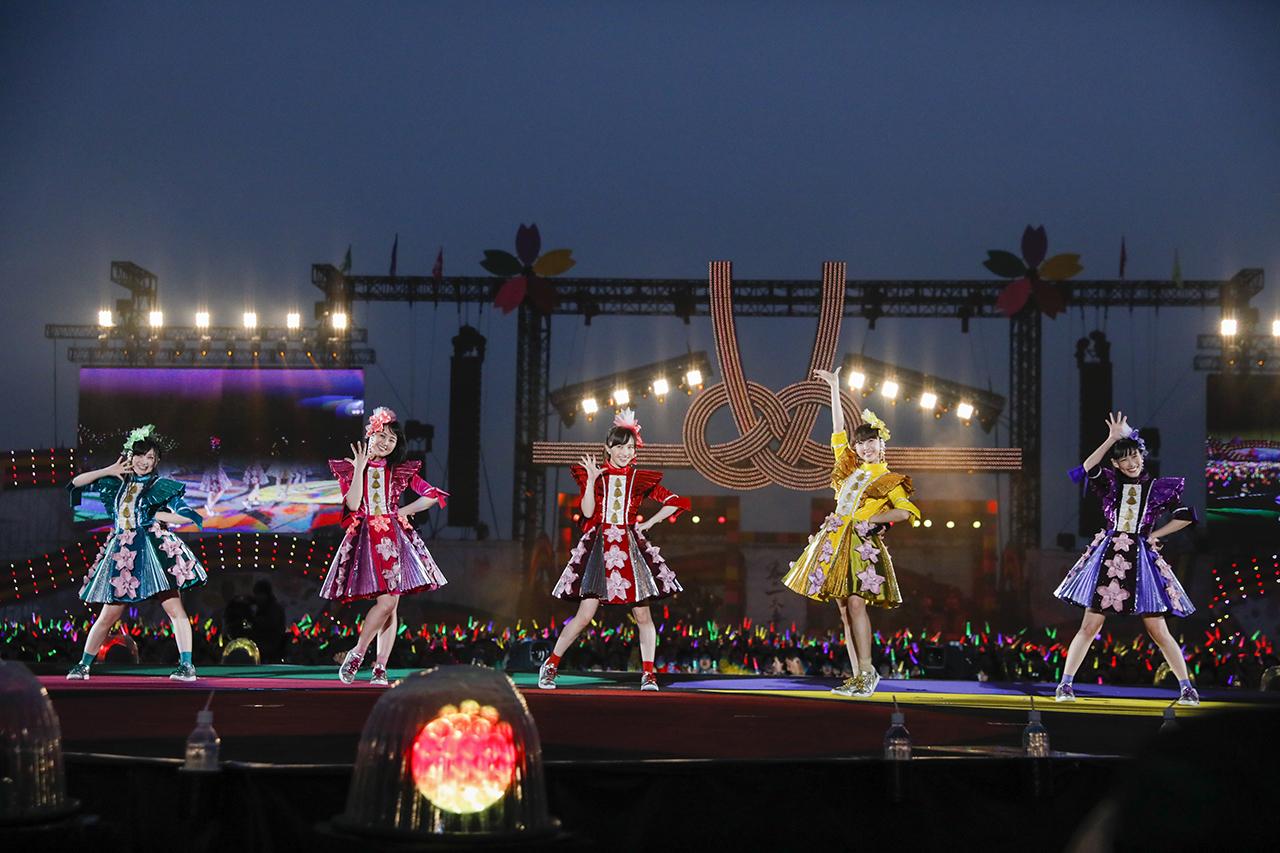『ももクロ春の一大事2017 in 富士見市〜笑顔のチカラつなげるオモイ〜』 Photo by HAJIME KAMIIISAKA+Z