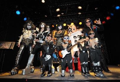 『KISS EXPO TOKYO 2016~地獄の博覧会~』にジーン・シモンズとKISSメイクの鉄腕アトムが来場