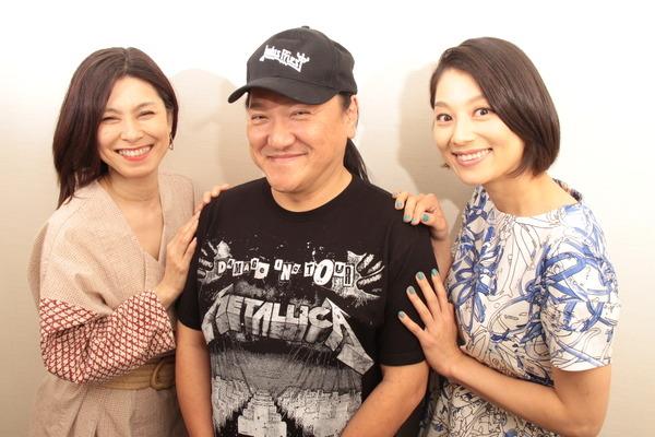 (左から)高田聖子・いのうえひでのり・小池栄子