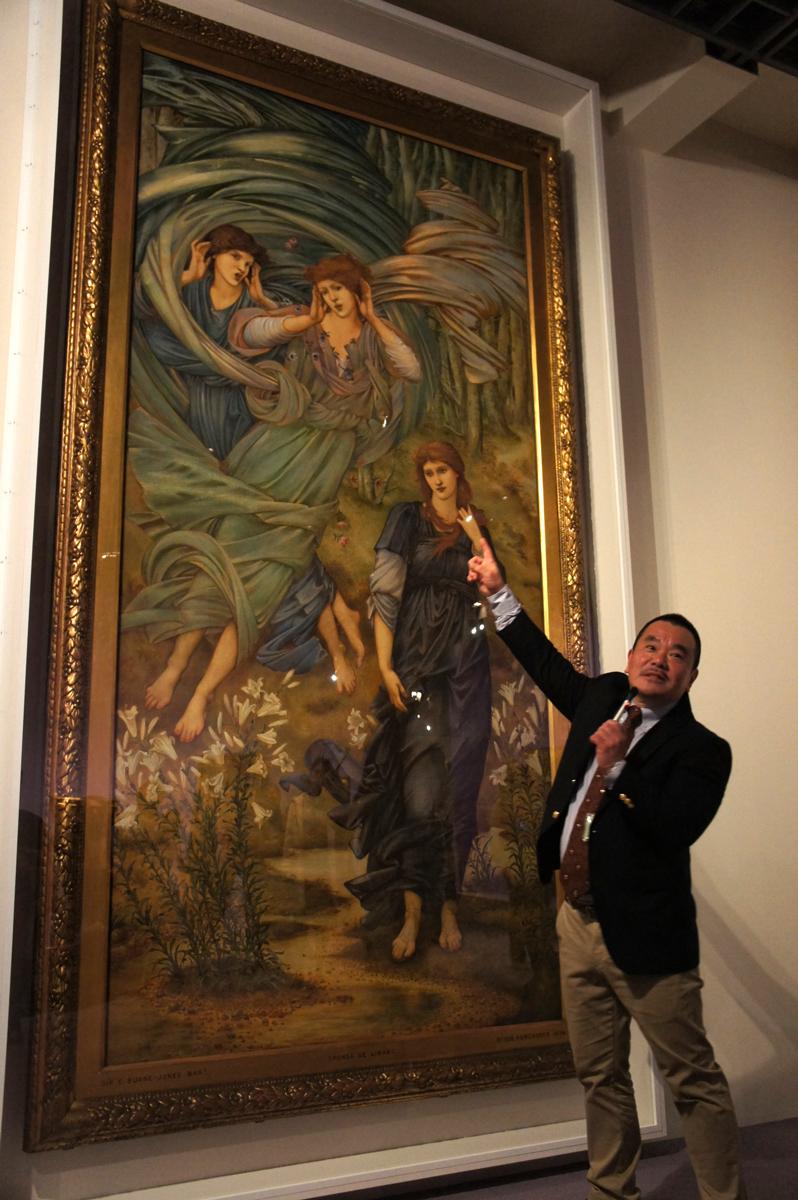 エドワード・コーリー・バーン=ジョーンズ『スポンサ・デ・リバノ(レバノンの花嫁)』1891年 水彩、グワッシュ・紙 ©Courtesy National Museums Liverpool, Walker Art Gallery