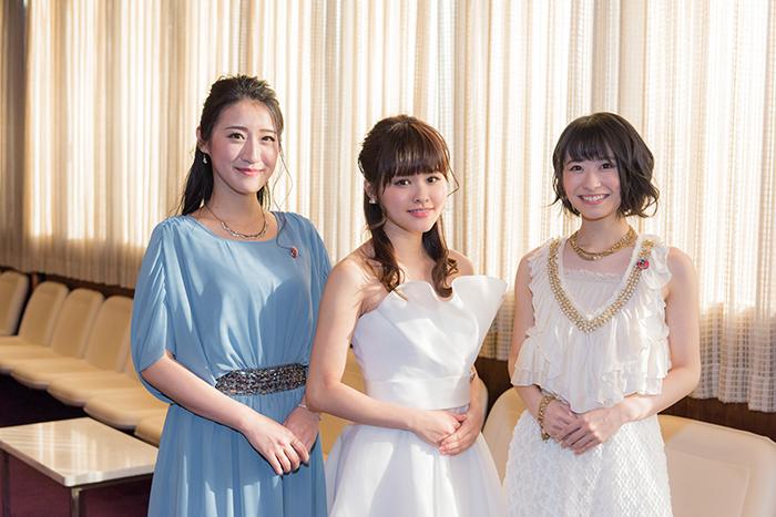 (左から)松原凜子・昆夏美・唯月ふうか