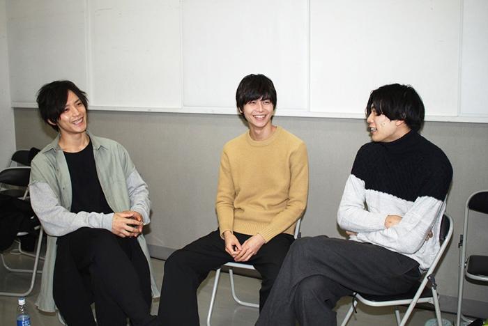 (左から)久保田秀敏、多和田秀弥、東啓介