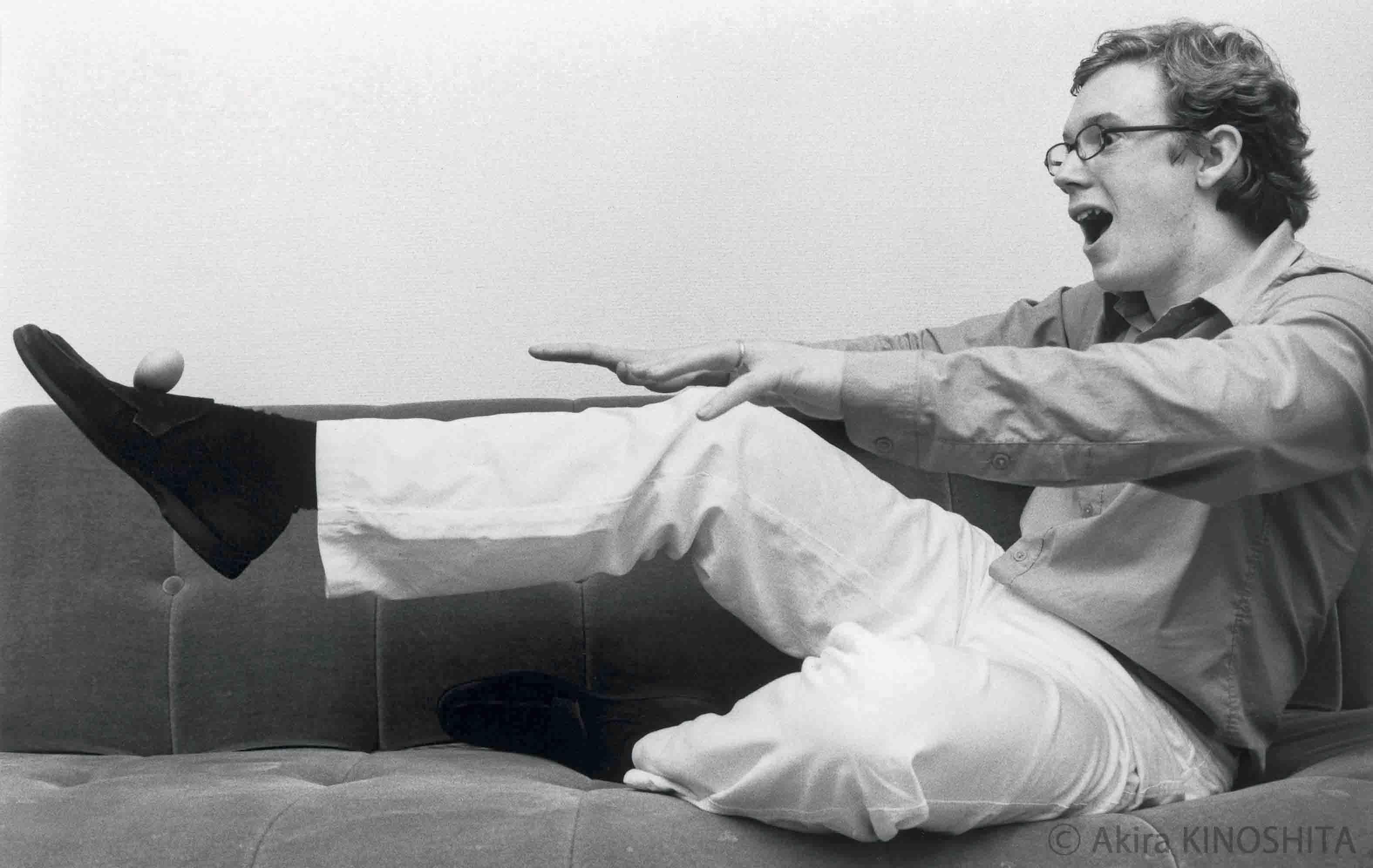 ダニエル・ハーディング(指揮者) 2001年11月26日撮影