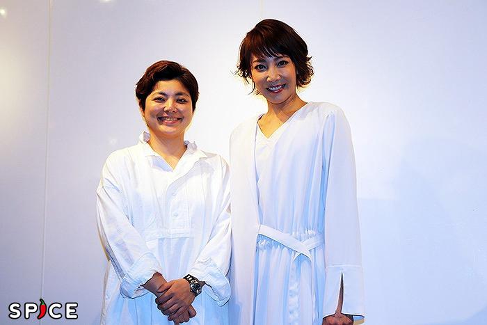 (左から)小林香、柚希礼音