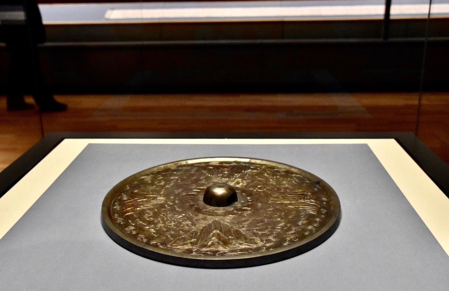 国宝《海磯鏡》 中国・唐または奈良時代 8世紀 東京国立博物館蔵(法隆寺献納宝物) 通期展示