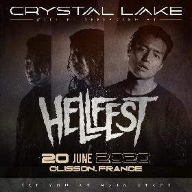 Crystal Lake、フランスのメタルフェス『HELLFEST 2020』メインステージに出演決定