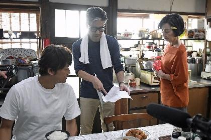 香取慎吾 ファミリーマート新CMで見事な食べっぷり披露、チーズインハンバーグ15個を快食