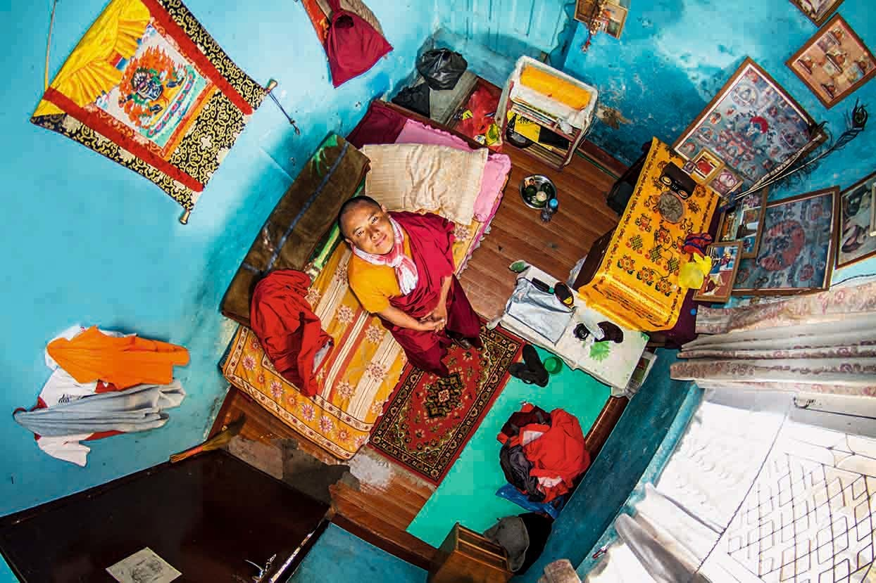 仏の道で修行する部屋(ネパール)Pema
