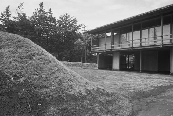 丹下健三 住居(1953)写真提供:内田道子