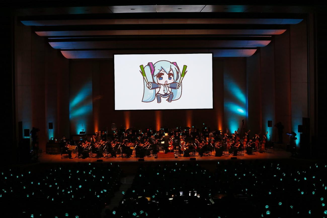 初音ミクシンフォニー2017東京公演 (C)Crypton Future Media, INC. www.piapro.net