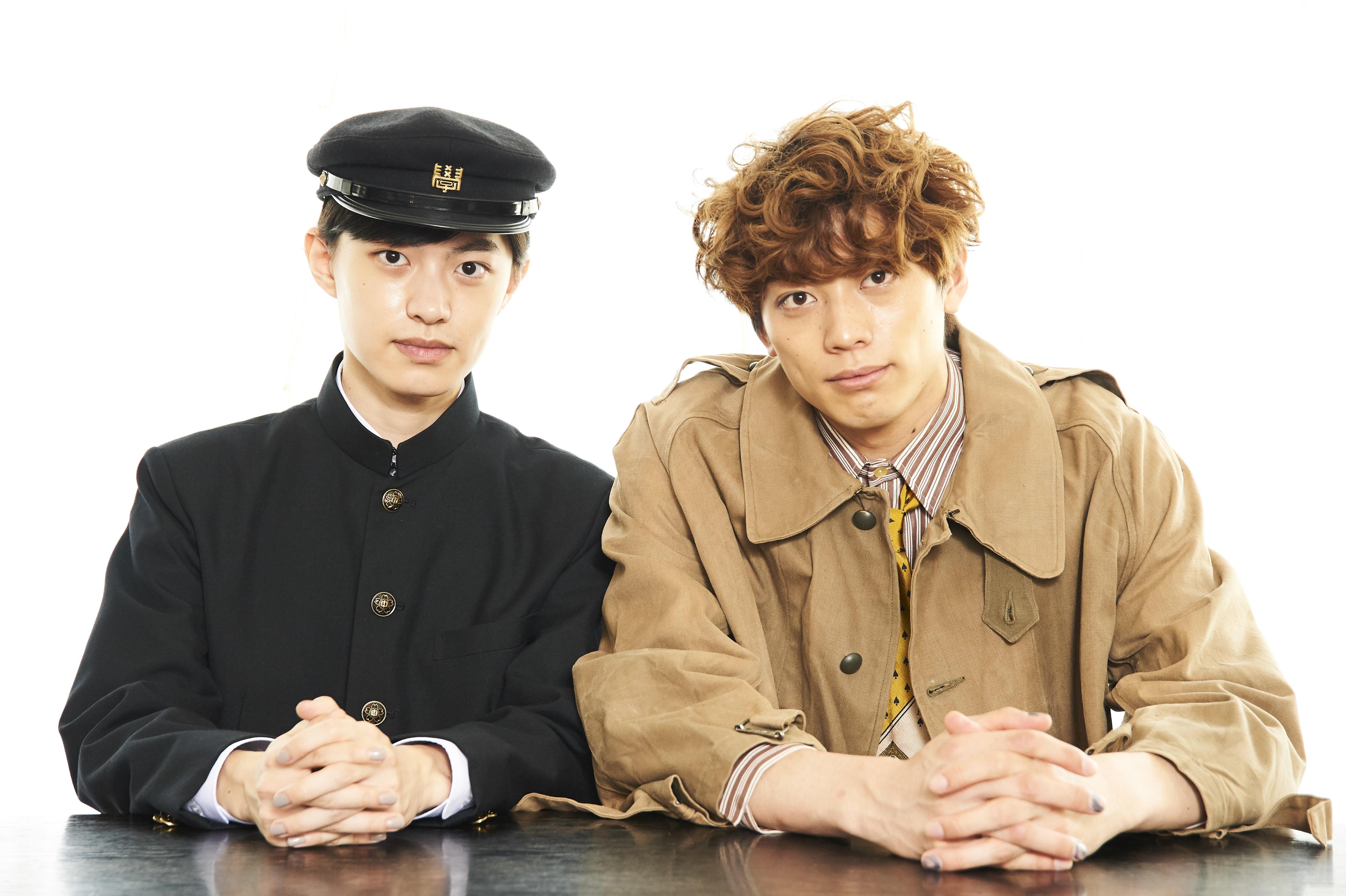 (右から)東啓介、上村海成