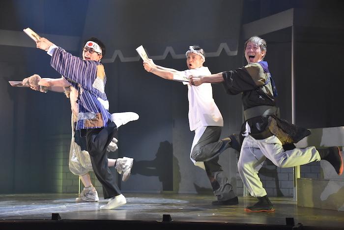 梅棒EXTRAシリーズ『ウチの親父が最強』ゲネプロの様子
